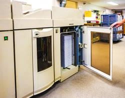 Printed books still in machine - Business Printing